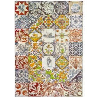 Dutch Ceramic Tiles (4 Designs)
