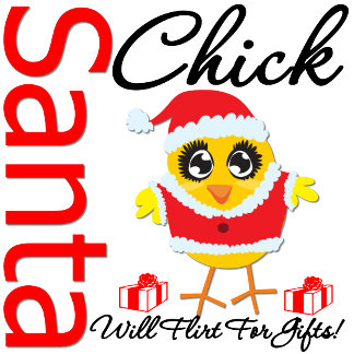 Santa Chick Will Flirt For Gifts v2