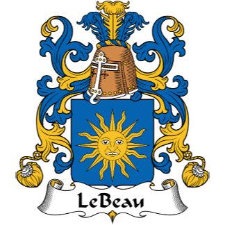 Le Beau Family Crest