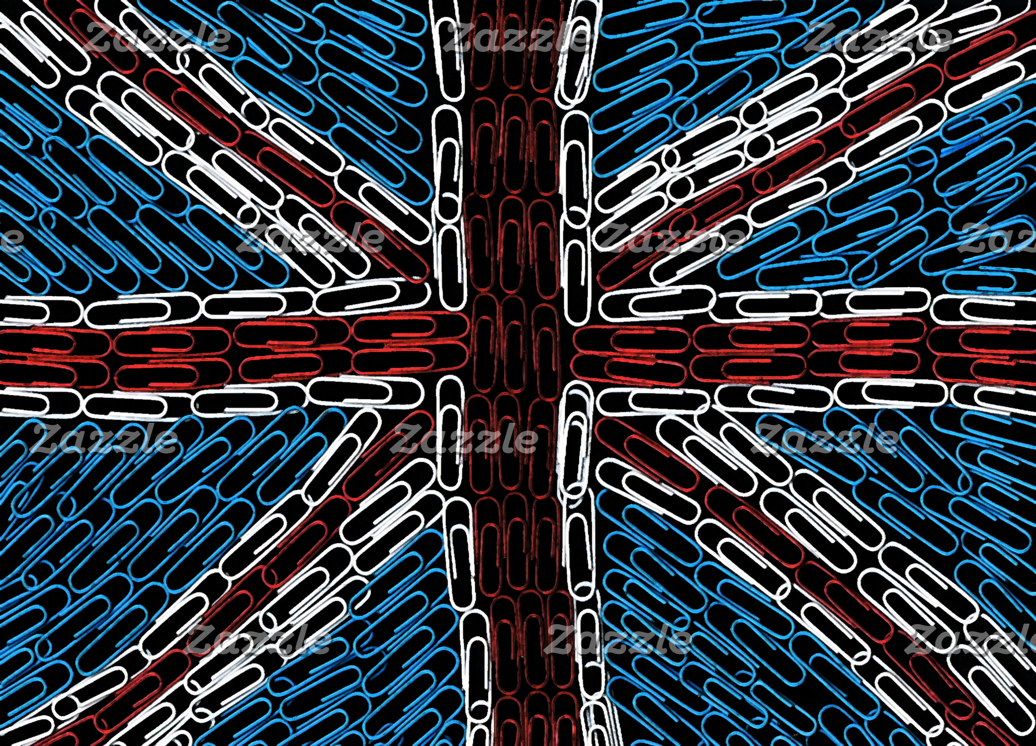 Union Jack of Paperclips