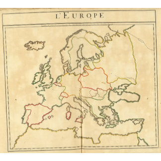 Europe and Major Cities Outline