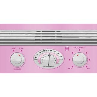 Pink Vintage Radio