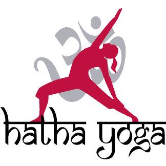 Hatha Yoga Pose T-Shirt Gifts Cards