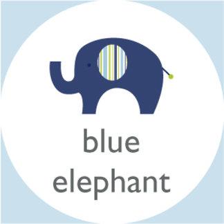 Jumbo Blue Elephant