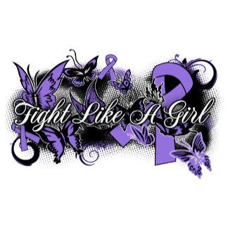 Hodgkin's Lymphoma Fight Like A Girl Butterfly