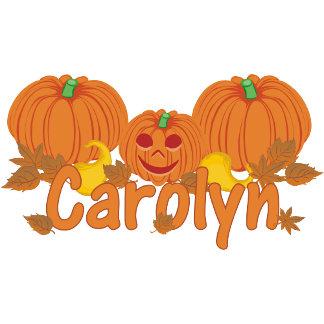 Pumpkin Carolyn Personalized Halloween