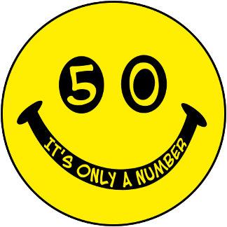 50th birthday Smiley