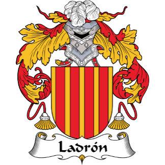 Ladron Family Crest