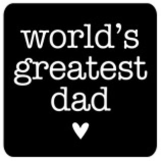 World's Greatest Dad with Heart