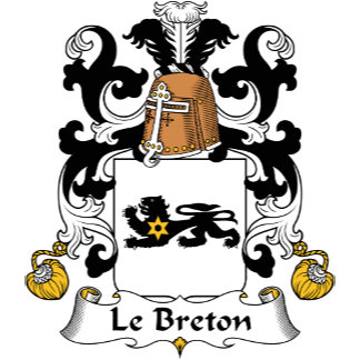 Le Breton Family Crest
