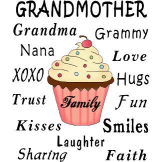 Grandma's Cupcakes For Grandmothers