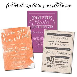 Zazzle Featured Wedding Suites