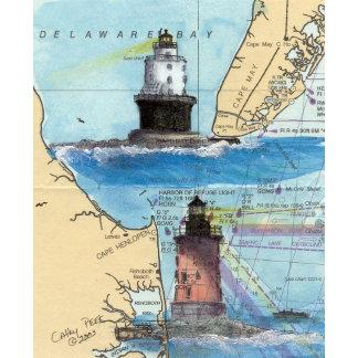 DE Lighthouses