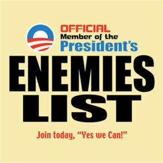 Official Enemies List