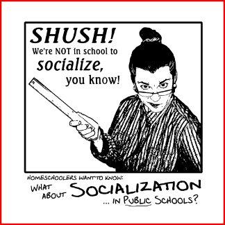 No Socializing!