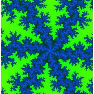 Fractal Snowflake Designs