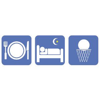 eat sleep basketball(no text)