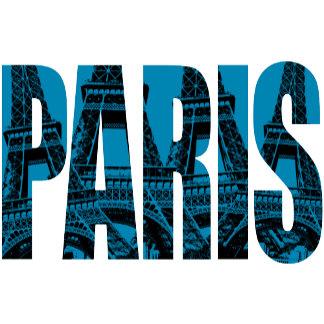 ➢ Paris with Blue Eiffel Tower