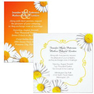 Summer Daisies Wedding Set