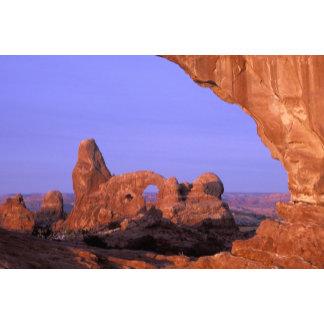 NA, USA, Utah, Arches National Park. Turret