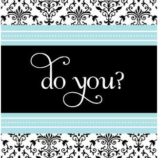 Wedding - RSVP - do you?
