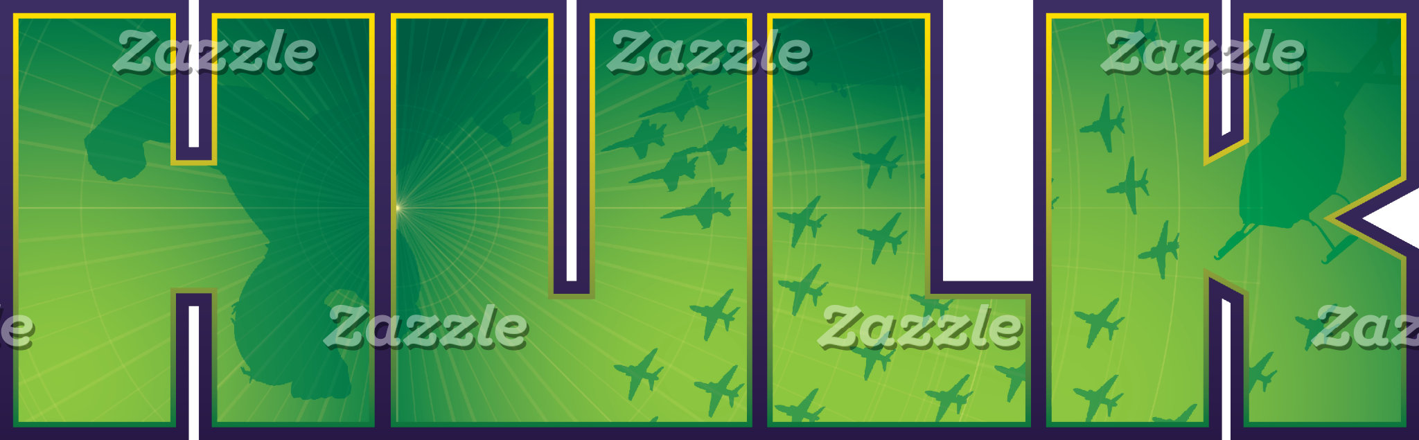 The Hulk Jet Plane Fugitive Logo