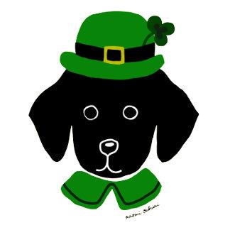 Black Lab Puppy St. Patricks Day