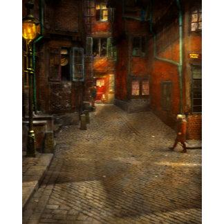 City - Germany - On a corner street 1904
