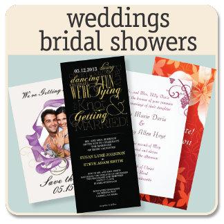 Weddings / Bridal Showers