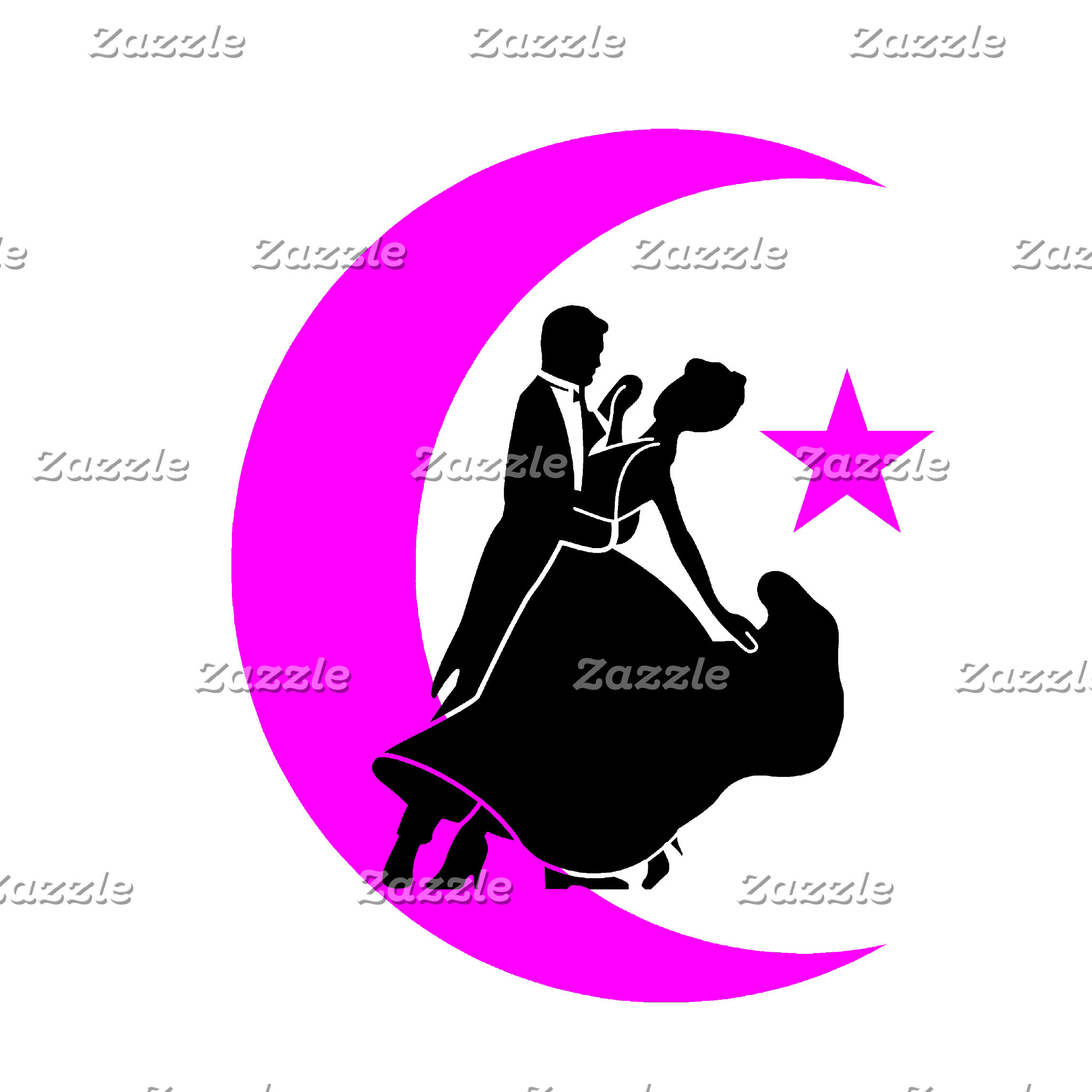 Ballroom moon star 3 pink