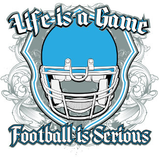 Football Game Light Blue