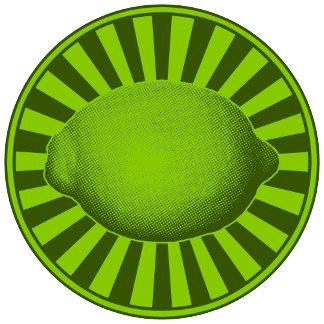 ➢ Retro Lime Emblem