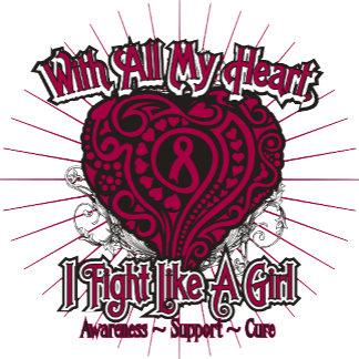Multiple Myeloma Heart I Fight Like A Girl