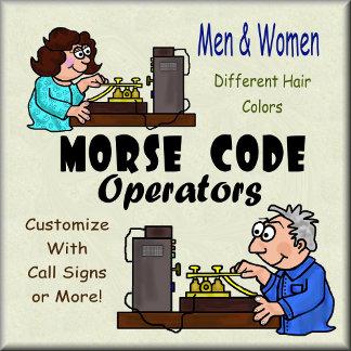 MORSE CODE OPERATORS