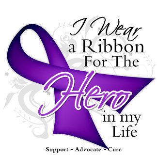 Epilepsy Ribbon Hero in My Life