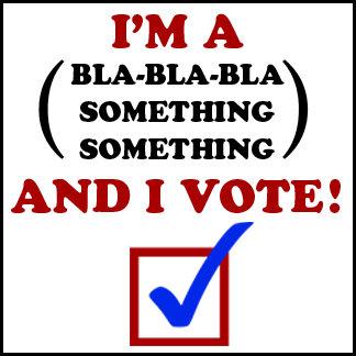 And I Vote!
