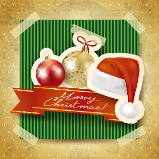 Christmas cards and postage