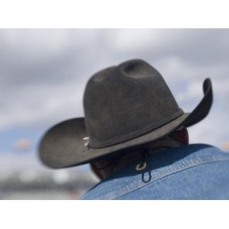 Tucson, Arizona. Cowboy hats in use at the