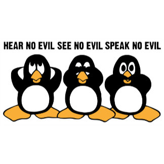 Hear No Evil See No Evil Speak No Evil Cute Penguins Product Gifts
