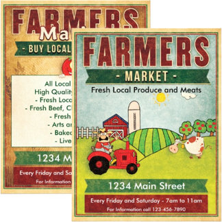 Farmers Market Flyers