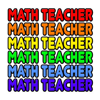 Rainbow Math Teacher