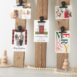 DIY: Festive Christmas Card Holder