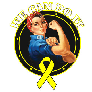 Bladder Cancer - Rosie The Riveter - We Can Do It