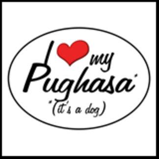 It's a Dog! I Love My Pughasa