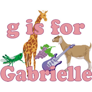 G is for Gabrielle