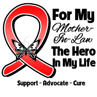 Red Ribbon For My Hero My Mother-in-Law