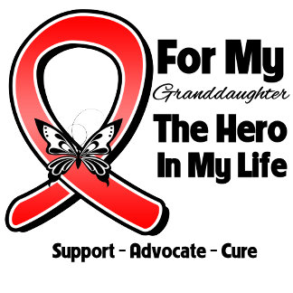 Red Ribbon For My Hero My Granddaughter