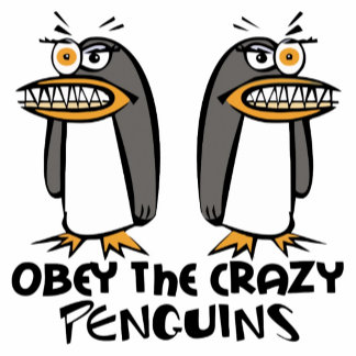 Obey The Crazy Penguins Product Gifts