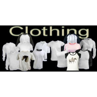 CLOTHING.   Everything is Customizable