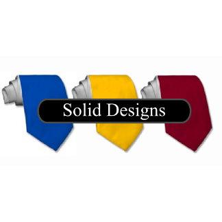 Solid Color Ties